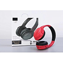 3579eba4e6ae3 ZL-801 Noise Reduction Aces Bluetooth Headphones With Microphone Stereo  Music Headphones Over 4Hours Playtime