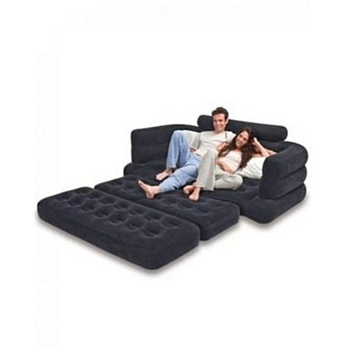 Inflatable Soft Two Person Pull Out Sofa Bed