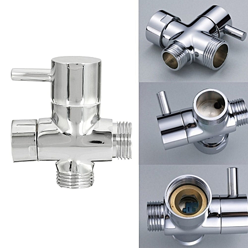 Brass 3 Ways T-adapter Valve For Diverter