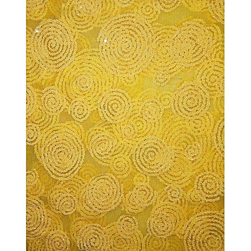 Lace Fabric 5 Yards - Yellow