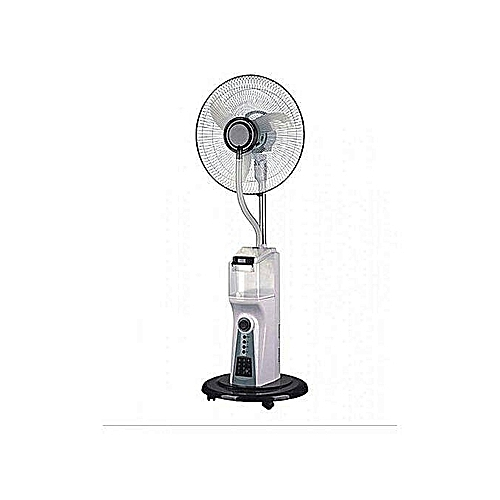 Scanfrost 16 Inches Mist Rechargeable Fan With Remote-SFRF161K
