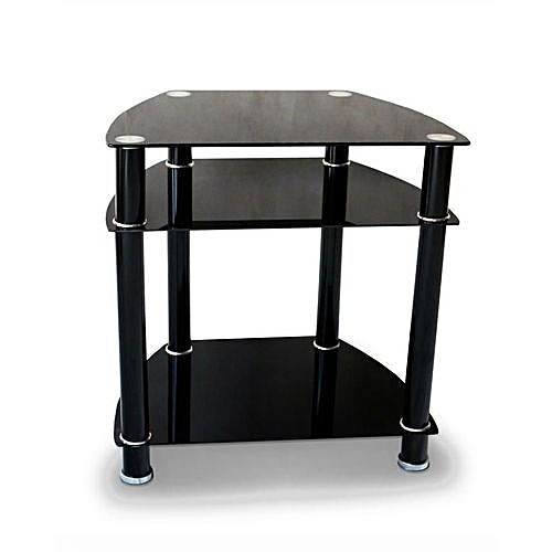 Tv And Home Theater Stand (Black)
