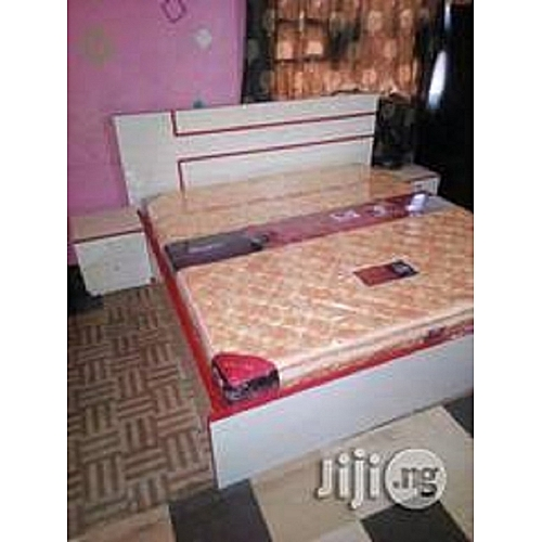 Elmer Convenional Modern Bed Only (6 By 6) (Delivery Only In Lagos)