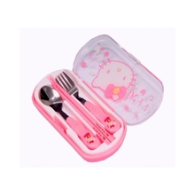 Hello Kitty Cutlery Set - Pink -5pcs  sc 1 st  Jumia : baby tableware - pezcame.com