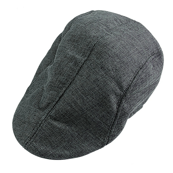 80b9d29ce23 Solid Men Women Ivy Hat Golf Driving Summer Sun Flat Cabbie Newsboy Cap