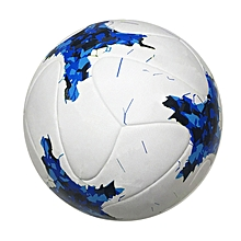 Official Size 5 PU Soccer Ball Football League Champion Sports Training Competition Ball Professional Soccer Ball For Adult(Blue), used for sale  Nigeria