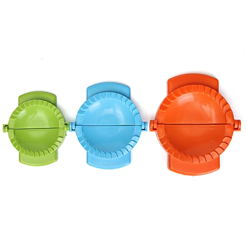 3Pcs Colorful Dumpling Mould Dough Press DIY Meat Pie Pastry Empanada Maker Tool