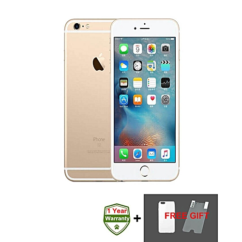 IPhone 6S 4.7 Inch 2GB + 16GB 12MP + 5MP 3D Touch 4G LTE Smartphone (Gift) – Gold