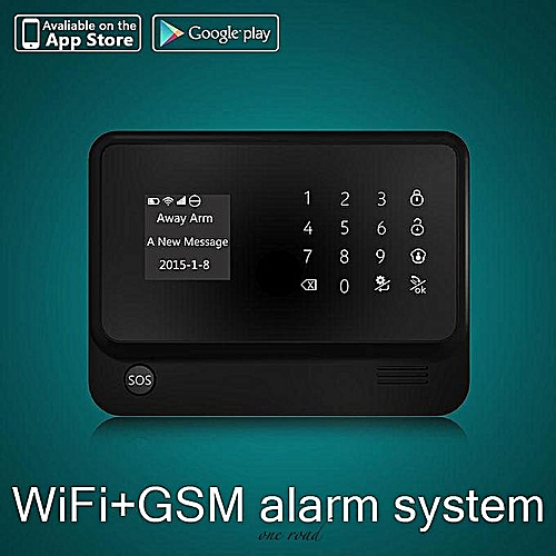 G90B Plus Wifi Gsm Wireless Home Intruder Burglar Alarm Security System Hot Black