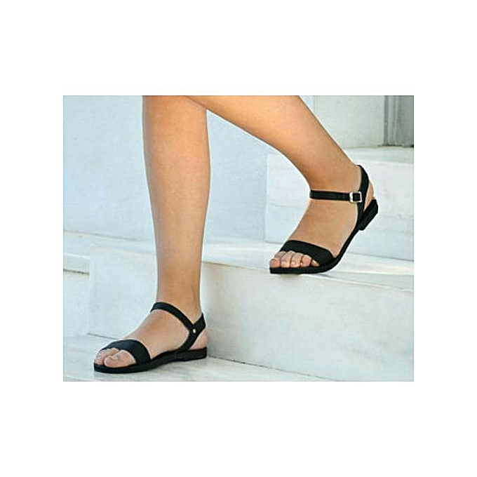 c47757975 Bestizzy Female Sandals-Black
