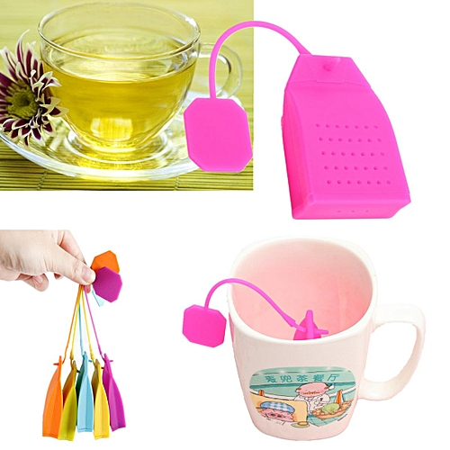Hot Bag Style Silicone Tea Strainer Herbal Spice Infuser Filter Diffuser Kitchen
