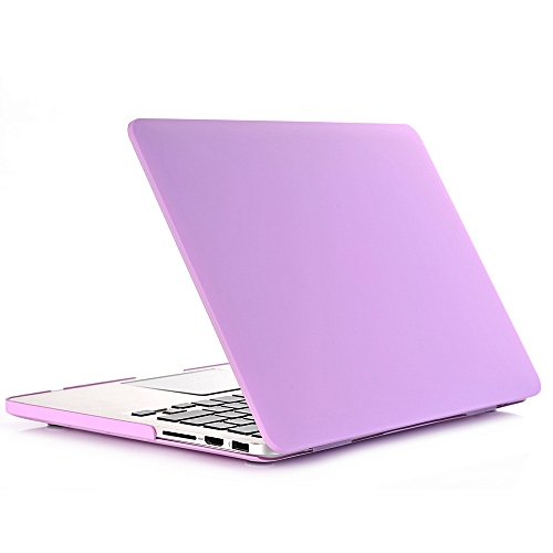New Cream Apple Notebook Protective Shell Multi-model Specifications Apple 11 Inch 12 Inch 13inch 15 Purple