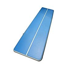 UJ Taekwondo Cushion Inflatable Mat Gymnastics Air For Training Fitness Blue