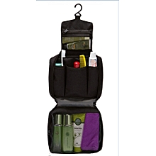 Portable Cosmetic Bag Organizer Toiletry Kits Storage-Back