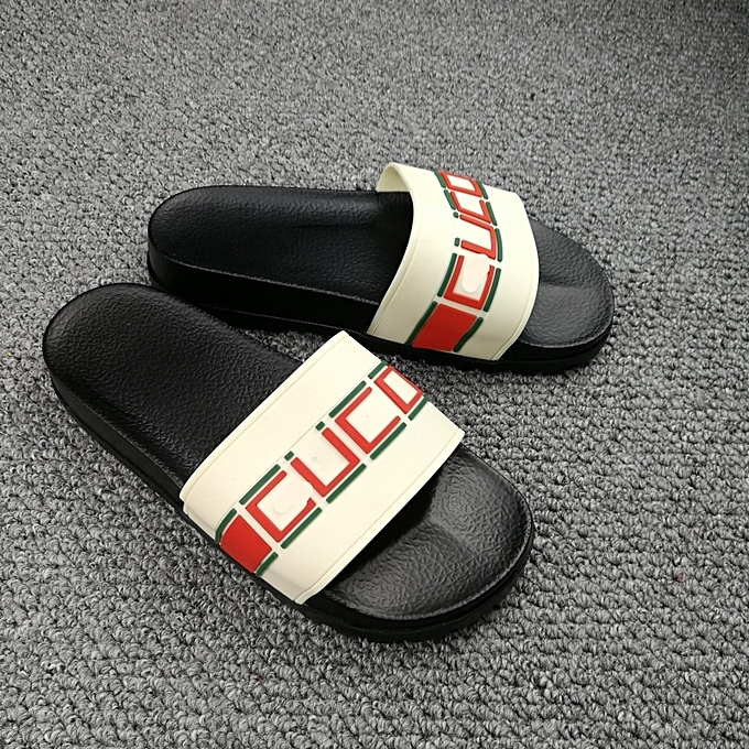 6fee63b2576b ... New Leisure Male Sandals Comfortable Summer Leather Slippers Men Size 38 -46 Black ...