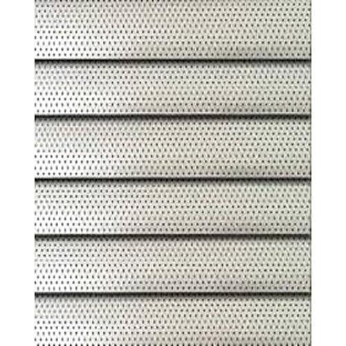 Fm Aluminium Perforated Venetian Window Blinds Silver