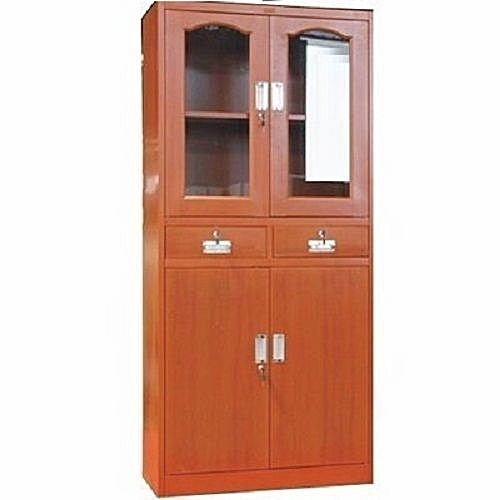 Metal Cabinet With Glass Metal Door (Lagos Delivery Only)