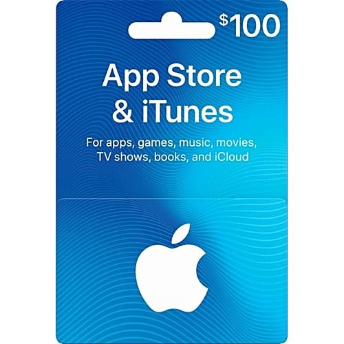 $100 USA ITunes Gift Card
