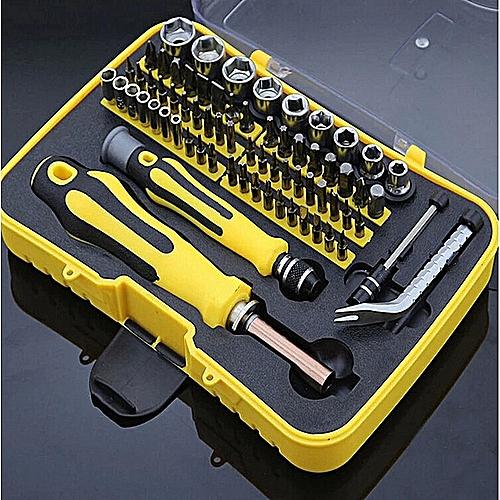 70 Piece Multifunctional Screwdriver Knife Sleeve Set