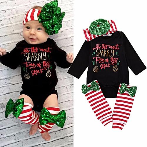 51963e32f Fashion Cotton Newborn Baby Boy Girls Clothes Romper Leg Warmer ...
