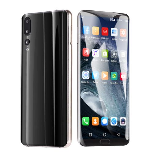 P20 Pro 6.1 4G RAM 64G ROM MTK6580A Quad Core Android Smartphone Dual SIM-Black