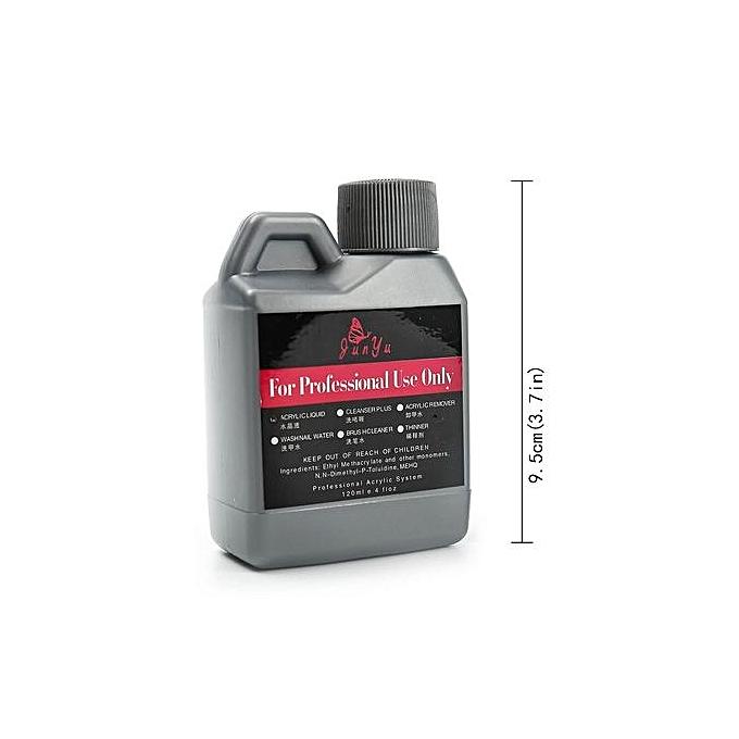 Buy Fashion Pro Acrylic Powder Liquid Kits Nail Art Tip Kit Dust 3D ...