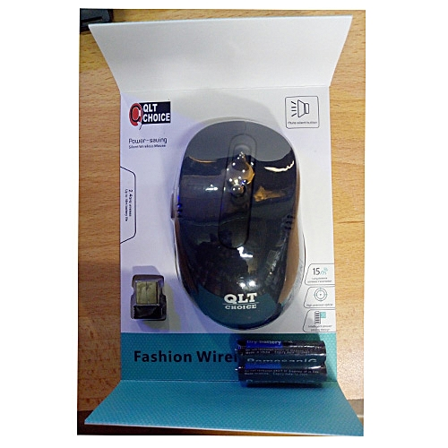 QLT CHOICE WIRELESS MOUSE WM-11 With Free Battery