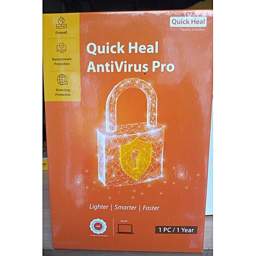 Quick Heal Antivirus PRO 1 User
