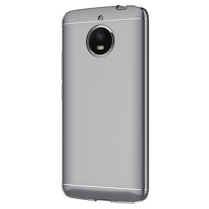 acd57ae037 ... Case For Motorola Moto E4 Plus (5.5 Inch) Soft TPU Rubber Gel Bumper  Transparent