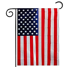 Houseworkhu Garden Flag  Black White And Blue American Flag  -Red for sale  Nigeria