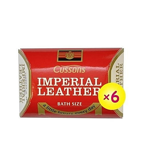 Imperial Leather Bar Soap 60g - X 6