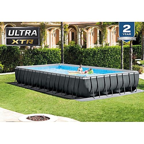 32ft X 16ft X 52in Ultra Frame Rectangular Pool Set