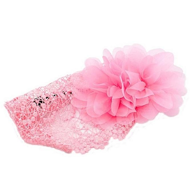888521905d4 ... Flower Toddlers Infant Baby Girl Headband Hair Band Headwear Crochet-As  Show ...