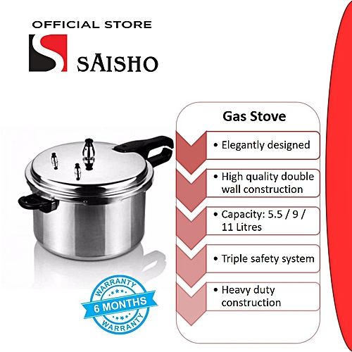 Saisho Pressure Cooker 5 Ltrs S-710 cookware