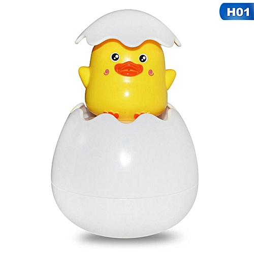 Eleganya Children Creative Penguin Egg Shower Sprinkling For Kids Cartoon Toy