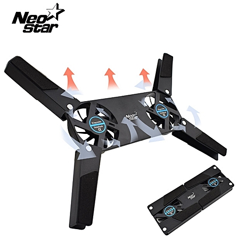 Neo Star USB Fan Stand Cooling Pad For Laptop