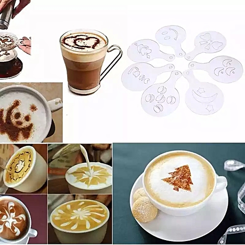 Coffee Tea Shapes Designs