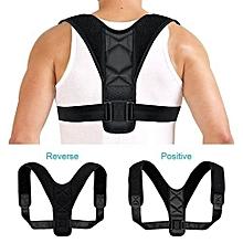 Posture Corrector - Adjustable Clavicle Back Support Brace For Men ...