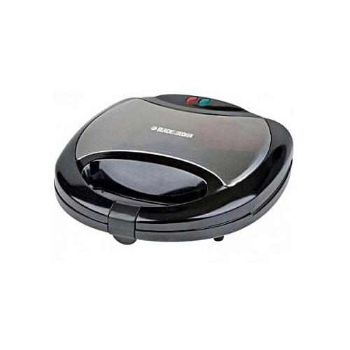 2 Slots Sandwich Maker, 750W - Black TS2080-B5