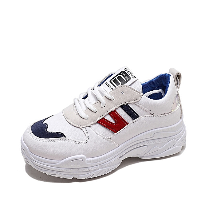 a64f8aaaf5cc Women S Shoes Thick Bottom Sports Shoes Ulzzang Harajuku Daddy Shoes  Ladies  Shoes Sell Quickly-