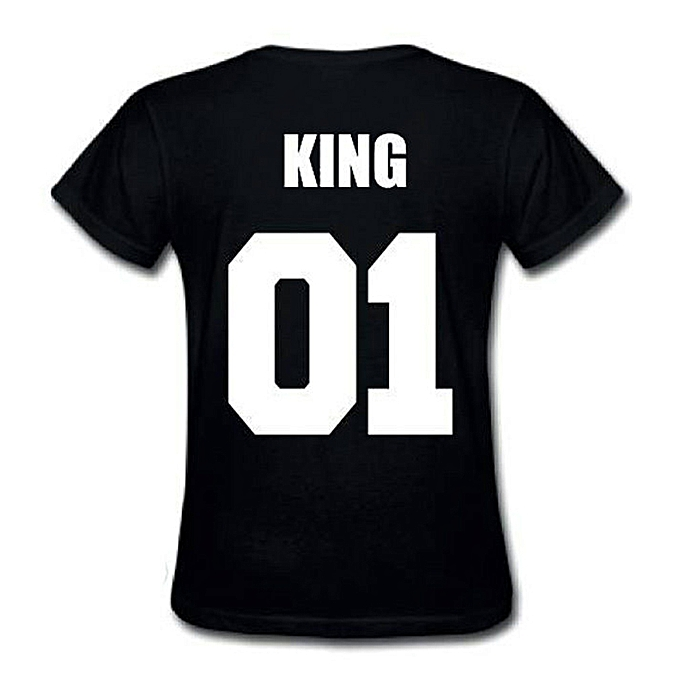 b000a5aa8 Lover Couple Romance King Queen T Shirt For Valentine's Day Wedding Gift