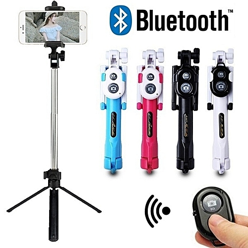 Universal Extendable Selfie Stick Wireless Bluetooth Monopod For Andriod IOS Cellphone
