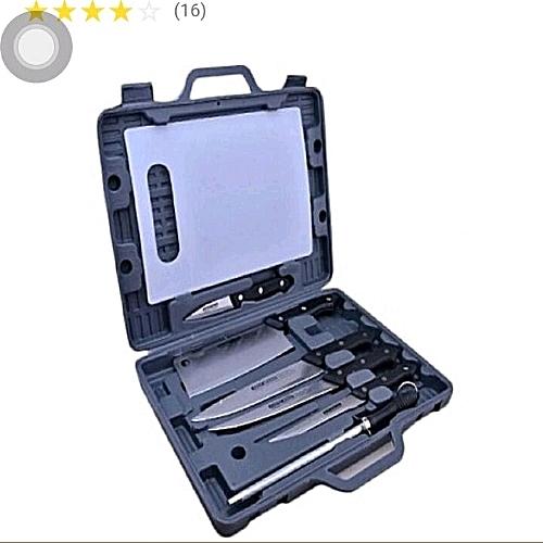 Knife Set Box 6pcs +chopping Board