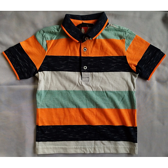 e01a7138b George Multicolored Toddler Boy Polo Shirt | Jumia NG