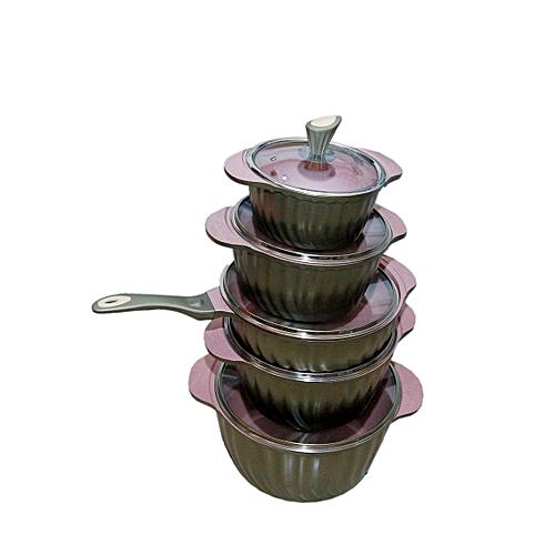 Rako 10pcs Granite Cooking Ware