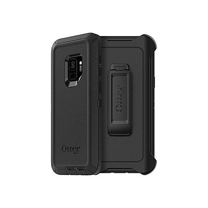 ... Defender Otterbox Series Shockproof Case For Samsung Galaxy S9 Plus - Black