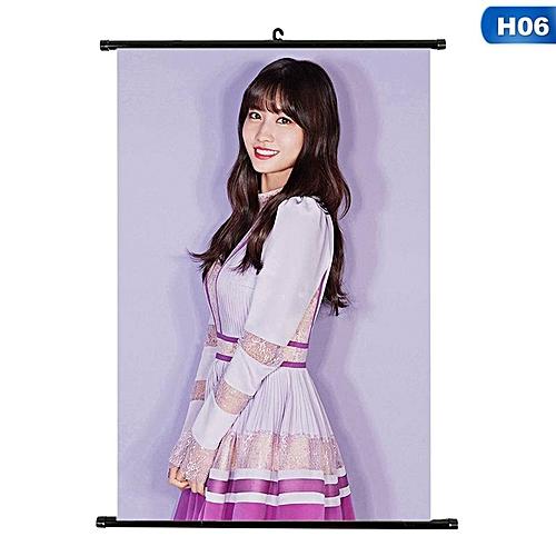 Eleganya 1 PC Kpop TWICE New Album Hanging Photo Card Fashion Scroll Poster