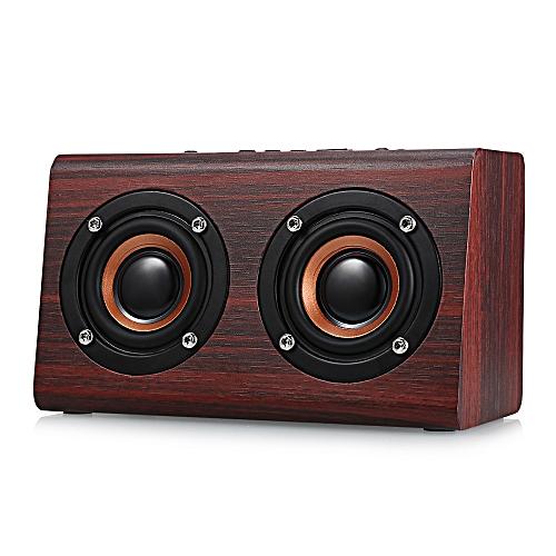 W7 Bluetooth Speaker Portable Wireless Player-BROWN