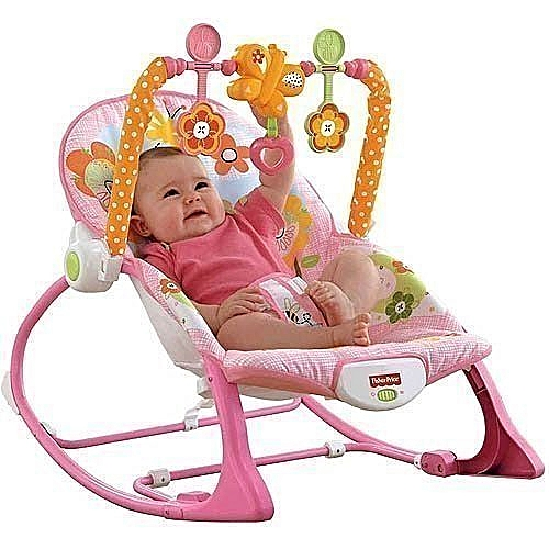 Baby Rocker With Vibrator - Infant To Toddler