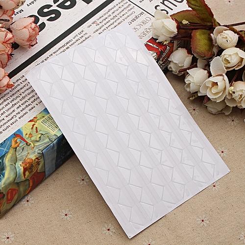 102 / 1020pcs Self-adhesive Photo Frame Corner Sticker Craft Scrapbook Album